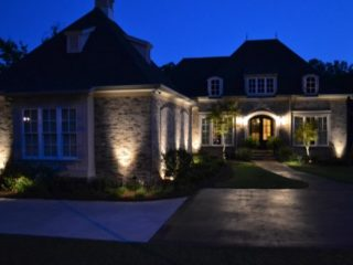 Part of our professional installation and design services can include a beautiful landscape lighting package.  Our ligthing designs will brighten your evenings.