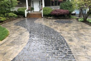 Make a great first impression with a bold new driveway.