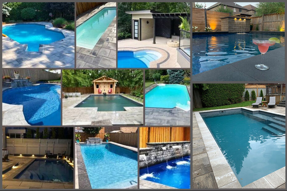 Pool Collage